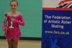 Charlotte -3rd place tots free british champs 2013